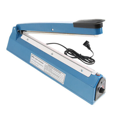 8-Level Shift Heat Sealer Plastic Bag Sealing Machine US Plug 220V, 13inch