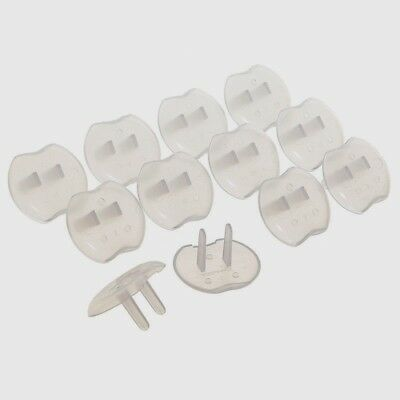 12pk DreamBaby Safety Outlet Plug Shock Guard Protector Covers Child Baby Proof