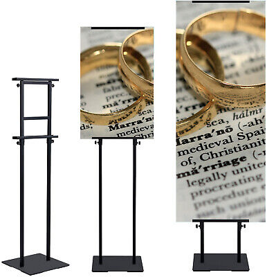 1 pack,Poster Stand Pedestal Display Floor Standing Adjustable tilt Sign Holder