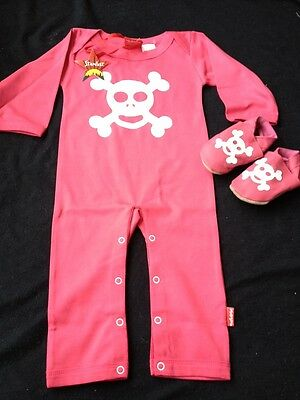BNWT Girls Romper & Slippers From Stardust (0-6 Mths) *REDUCED* RRP £34