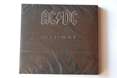 AC/DC: Back In Black (1980, Brian Johnson) remastered Digipak CD, NEU, OVP
