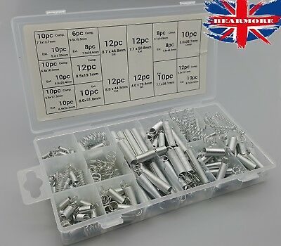 Extension Compression Spring Various Size Tool Assortment Auto Carburetor Spring
