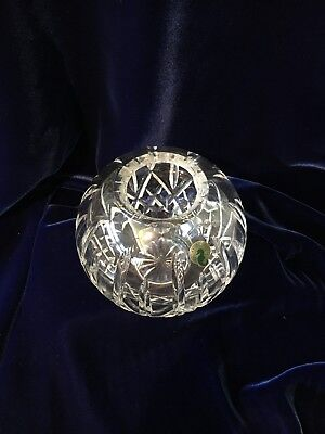 "Waterford Crystal Lismore 5 1/2"" Rose Bowl - Made in Ireland"