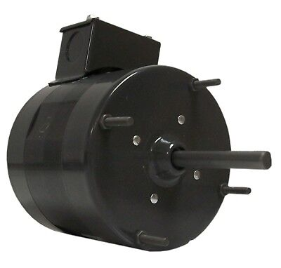Fasco D114 Blower Motor, 1/12 HP, Split-Phase, 1550 RPM, 115, 230V