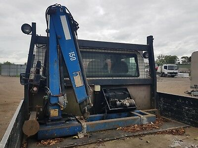 hiab crane pump legs 2 extensions full hydraulics pickup trailer deliver