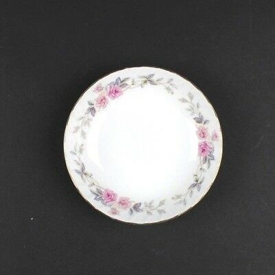 "Norleans Fine China Japan SPRINGTIME Soup Bowl 5 1/2"" White With Rose Design EUC"