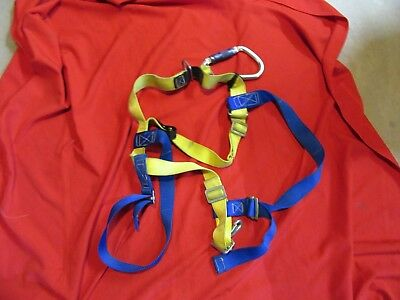 Gemtor 541NYCL-2 FDNY Personal Safety Class-II Harness fire safety W/ CARABINER