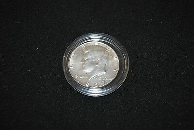 Half Dollar 1967 United States of America Liberty Kennedy Silber / sehr selten