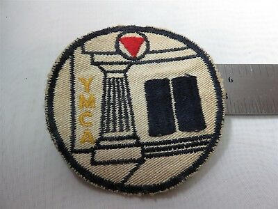 Vintage Circa 1970's YMCA Patch Approx 2 3/4""