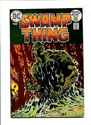 Swamp Thing #9 NM- 9.2 HIGH GRADE DC Comic Classic Wrightson Cover Art Bronze