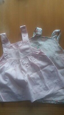 Baby girl pinifore dresses 12-18 months