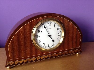 Old French clock 8 Days Lever movement jewelled platform Bayard D-B 1920`-1930`