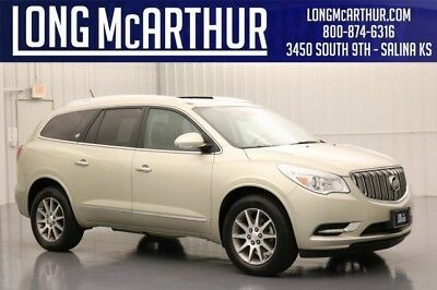 Buick Enclave LEATHER GROUP FWD 3.6 V6 AUTOMATICSECOND ROW BUCKET SEATS EXCLUSIVE BUICK QUIETTUNING STABILITRAK STABILITY CONTROL HEATED FRONT SEATS