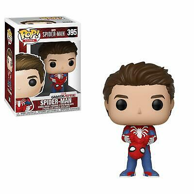 Funko Pop Marvel Video Game Unmasked Spider-Man Vinyl Figure