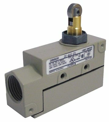 Omron Enclosed Limit Switch, 480VAC/250VDC Voltage Rating, 15 Amps, Top Actuator