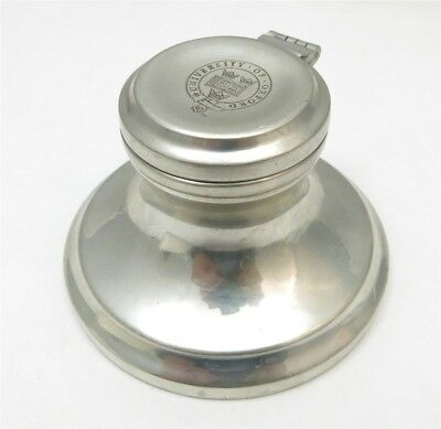 TOC Ltd. England University of Oxford Pewter Inkwell