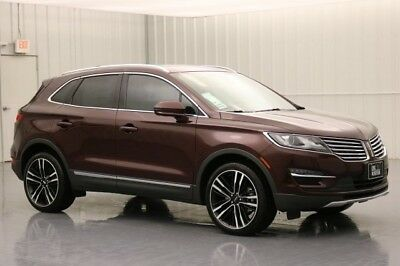 Lincoln MKC RESERVE 2.3 AWD SUV SUNROOF NAVIGATION NAV MSRP $47900 ALUMINUM TRIM SONATA SPIN PACKAGE MKC CLIMATE PACKAGE THX II BRANDED AUDIO