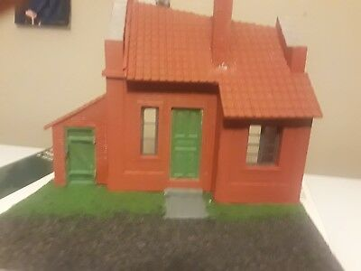 1/35 miniart building built up Dutch village diorama.
