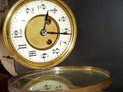 French Mantle Clock Movement,nice Condition.