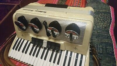 Settimio Soprani Accordion 120 bass with mutes c.1965.