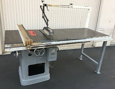 "Delta Rockwell 34-450 Unisaw 10"" Table Saw 2HP 230/460V 3Ph 3450 rpm (wired 230)"