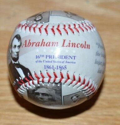2017 Abraham Lincoln Baseball - The Life and Times of Our 16th President