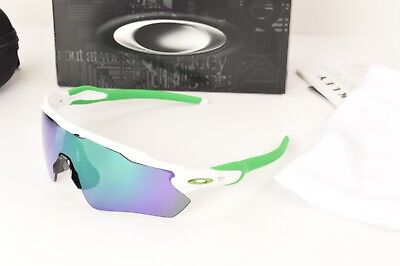 9a7c7f8bc4 ... where to buy nib oakley authentic radar ev path polished white jade  iridium oo9208 4838 green