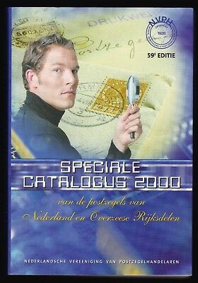 Netherlands Specialist Stamp Catalogue 59th Edition Year 2000