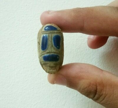 RARE ANCIENT EGYPTIAN ANTIQUE SCARAB Stone Old Kingdom BC