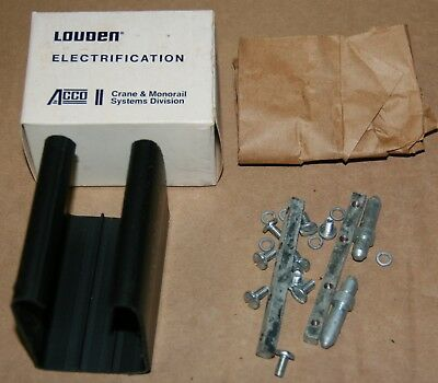 Louden Splice Assembly for Hoist Trolley Conductor Sections (810.35) LOT of 10