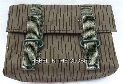 German NVA Army - New DDR Military Surplus Item - Rain Camo Grenade Pouches