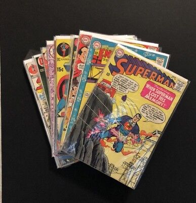 Lot Of 23 Different DC Comics From The Silver & Bronze Age