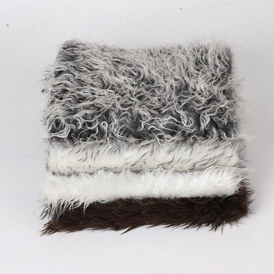 Hair Mat Fur Wrap 1pc Rug Infant Baby Soft Photography Blanket Newborn Backdrop