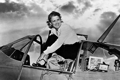 New 4x6 Photo: Aviation Pioneer Jacqueline Cochran, Founder of WAAC and WASP