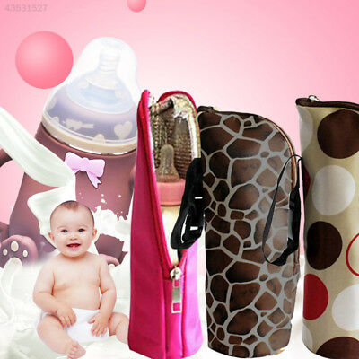 6FA1 Insulation Bag Baby Bottle 6Colors Children Water Bottle Warmers