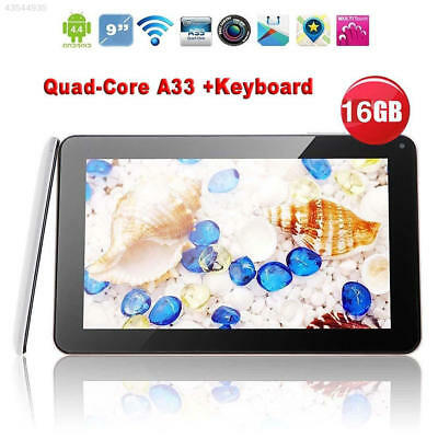"D4EF N98 9"" Inch Android 4.4 Tablet PC Quad Core 1GB+16GB W/ Mic US Plug White"