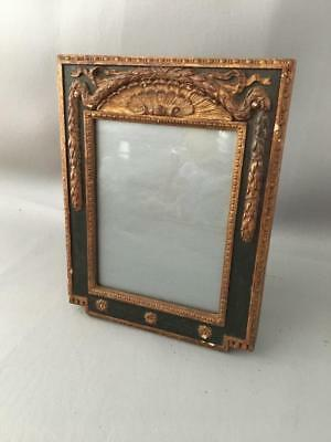 Antique Vtg French Style Laurel Leaves & Ribbons Wood Picture Frame Made Germany