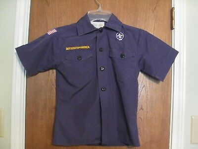 Cub Scout blue shirt, youth small,  short sleeve.