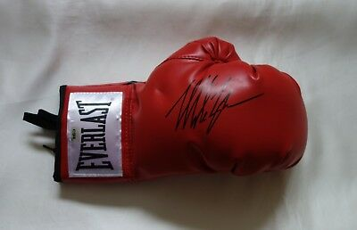 Mike Tyson Autographed Boxing Glove with Certificate