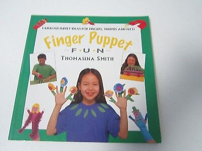 FINGER PUPPET FUN by Thomasina Smith Children's activity craft book