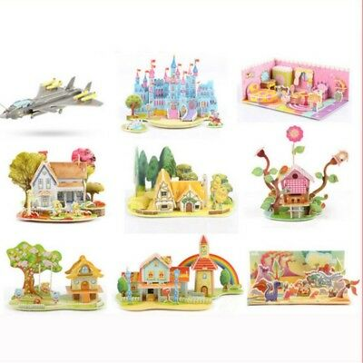 3D Puzzle Kids Baby Learning Geometry Educational Montessori Toys Gift DIY Hot
