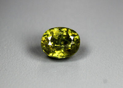 1.29 Cts_Glittering Rare Antique Collection_100 % Natural Demantoid Green Garnet