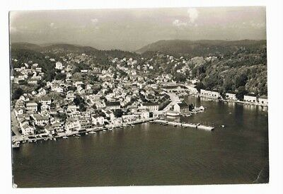 Norway Norge Risor Harbour postcard posted 1962
