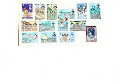 A  Unmounted Mint Set From Turks & Caicos Islands