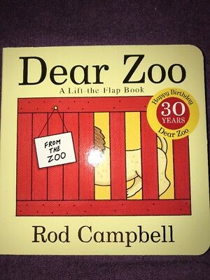 Dear Zoo: Lift the Flaps, Campbell, Rod, Used; Good Book