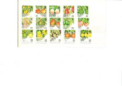 A  Unmounted Mint Set From British Virgin Islands Fruit