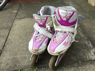 Inline Skates ROCES Girl (size 1.5 to 3.5 UK)