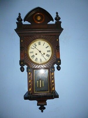 A  Nice Small American Wall Clock