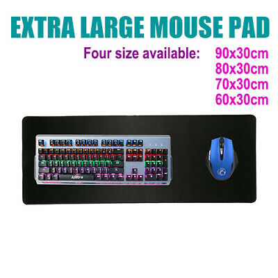 Large Size Gaming Mouse Pad Desk Mat Extended Anti-slip Rubber Speed Mousepad AU