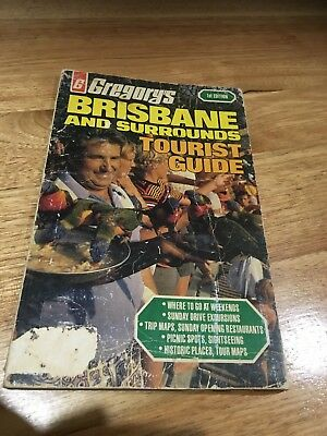 Vintage Gregorys Street Directory/Tourist Guide 1978